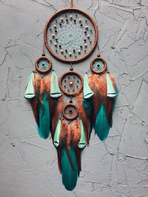 Dream Catcher Green Dreamcatcher Christmas Gift For Her Turquoise