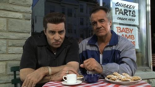Silvio Dante & Paulie Gualtieri are my favorite Sopranos characters. How can you not like those silver hair wings?