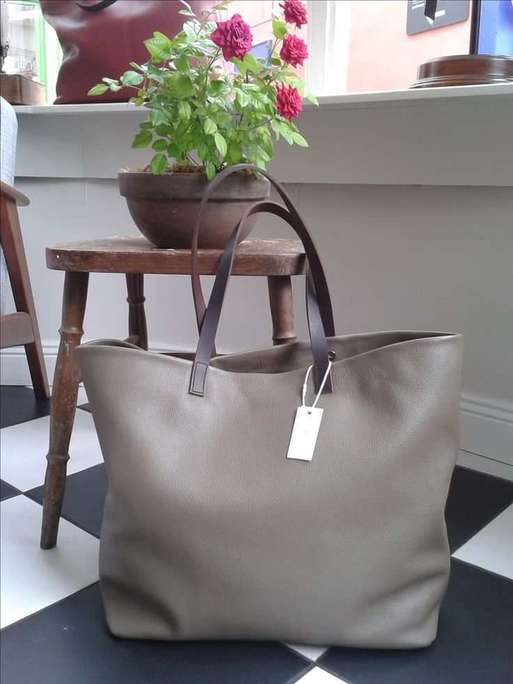 Our beautiful overnighter back in store in Taupe colour! Alabama Worley Runaway Bag