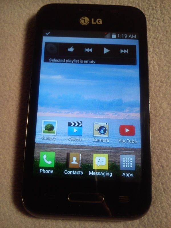 Like New LG Android Touch Phone