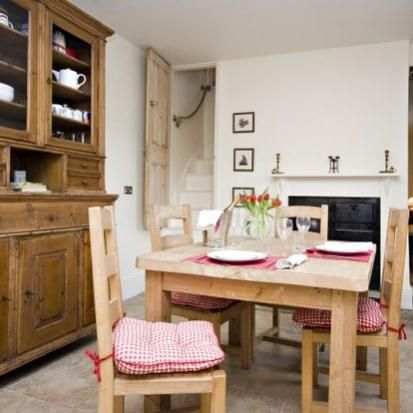 Darcy's - Yorkshire Wolds -Sit down at this beautiful wooden table and have a good old catch up about your day out in Yorskhire