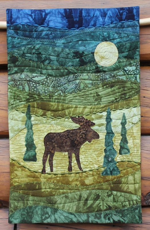 17 Best Ideas About Moose Quilt On Pinterest Toddler