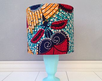 14 best african lampshades images on pinterest african prints 20 cm african print lampshade drum lampshade by junethirty on etsy aloadofball Choice Image