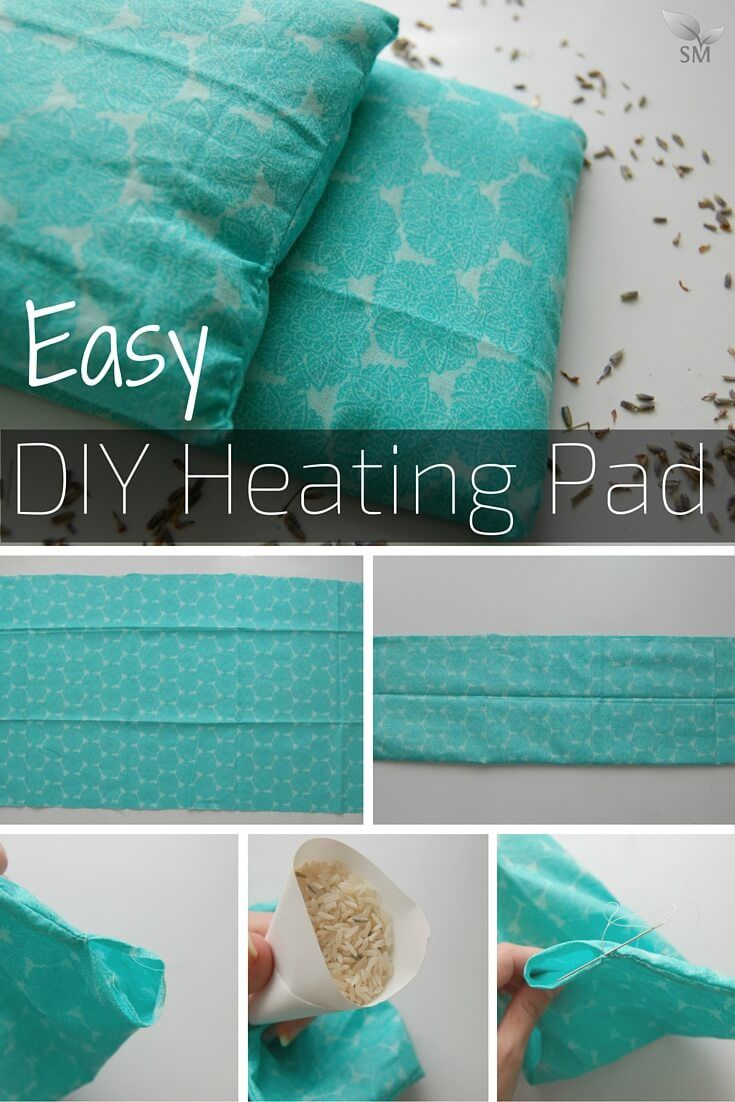 Easy Diy Heating Pad Recipe Mega Board Pinterest And