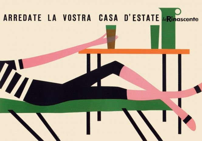 Lora Lamm and La Rinascente. www.italianways.com/la-rinascentes-home-by-lora-lamm/  #illustration #graphicdesign