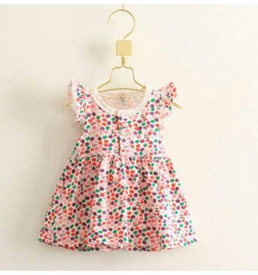 JQL Dress - Apple - sadinashop.com  Dress atau gaun bayi dan anak.