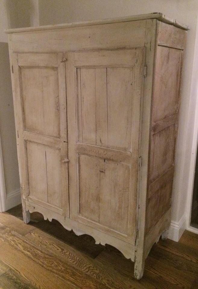 Antique french armoire by Stenvall interiors