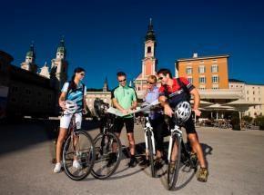 Ciclovia Alpe-Adria 1. cycle section: Salzburg-Bischofshofen