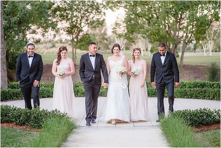 Braeside Chapel Wedding #bridalparty