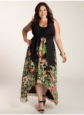 Agnella Plus Size Maxi Dress - Evening Dresses by IGIGI