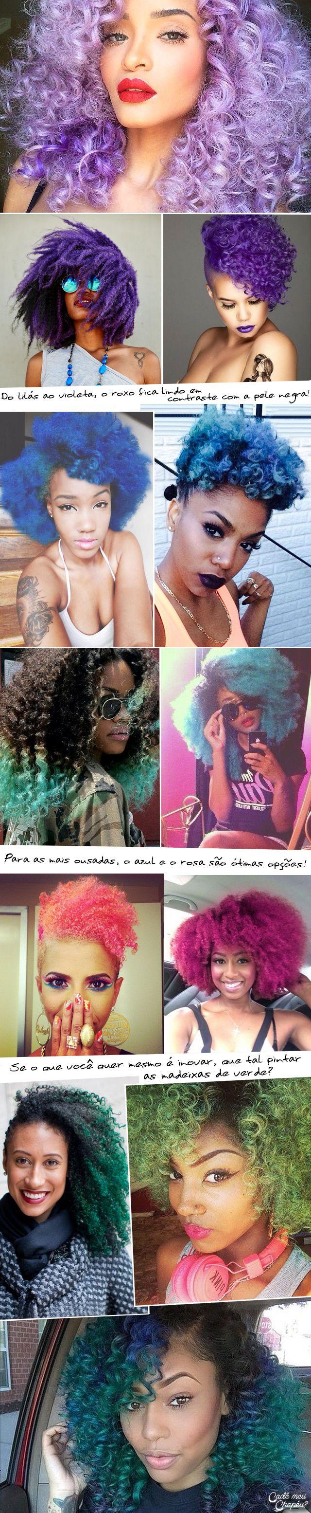 Natural Hair | Afro Hair | Curly Hair | Cabelo Crespo | Cabelo Cacheado | Cadê meu Chapéu? | http://www.cademeuchapeu.com