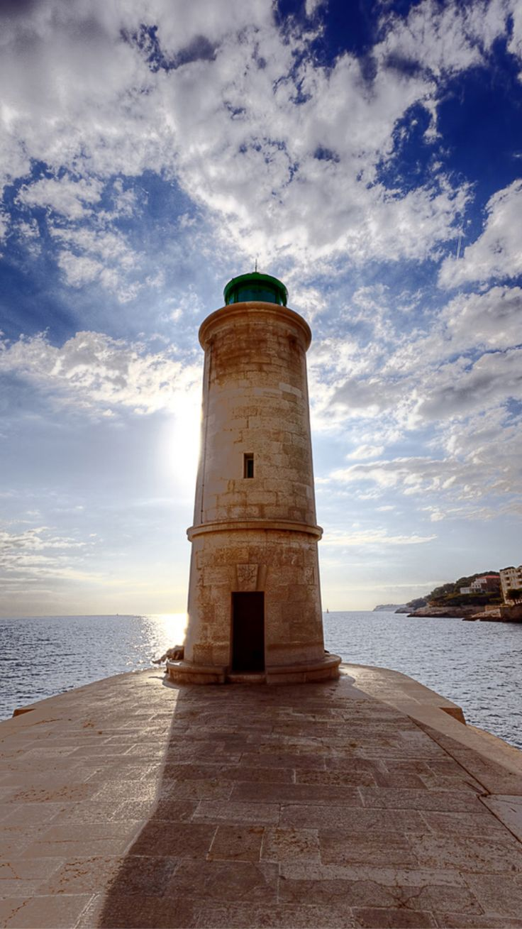 Cassis Lighthouse, Provence-Alpes-Cote d'Azur, France- by Cyril