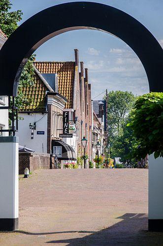 ,Marktstraat, Vesting, Naarden.