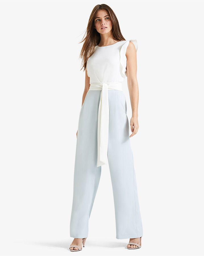 1d96438e835 Phase Eight Victoriana Jumpsuit Green