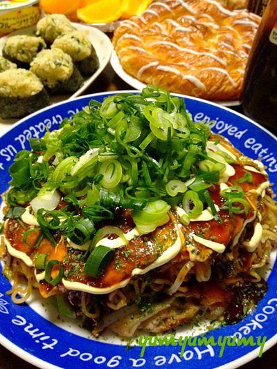 広島風お好み焼き風wです☆ by ひまわりさん   レシピブログ - 料理 ... 広島風お好み焼き風wです☆