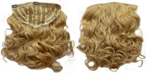 21 (54cm)  One piece hair extensions WAVY / CURLY STYLE - 1/2 wigs 100% Human Hair, very thick, easy clip in half wigs. http://www.superstrands.com/virtuemart/one-piece-human-hair-extensions/66-21-54cm-one-piece-hair-extensions.html