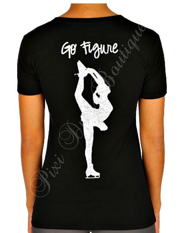 Youth Figure Skating Shirt, Ice Skating Shirt, Figure Skating Tshirt, Ice Skating Tshirt, Go Figure, Go Figure Shirt, Go Figure Tshirt