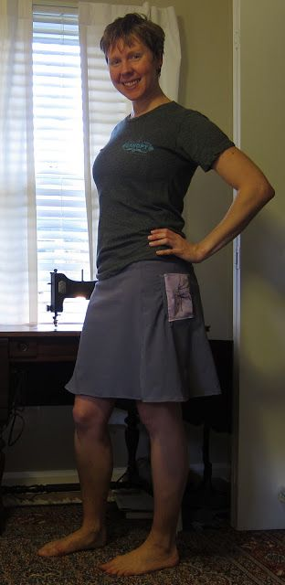 DIY Hiking Skirt but there is a lot of info on her site about DIY including down quilts