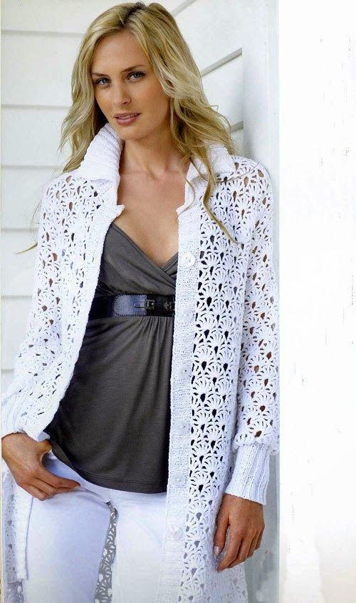 Inspirations Croche with Any Lucy: Coat