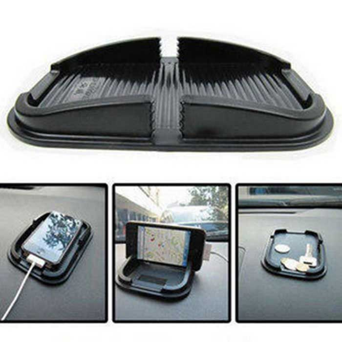 *** Click to Buy on DealExtreme. *** ZIQIAO Car Dashboard Sticky Pad Mat Anti-Slip Gadget Mobile Phone GPS Holder Accessories - Black