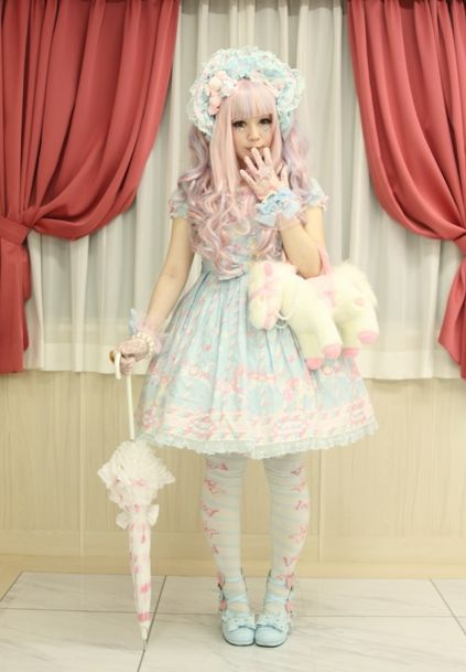 Tenue sweet lolita reve