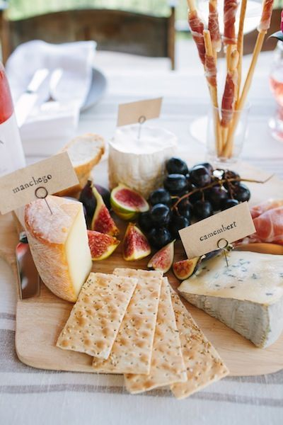 A few tips for arranging the perfect cheese plate...