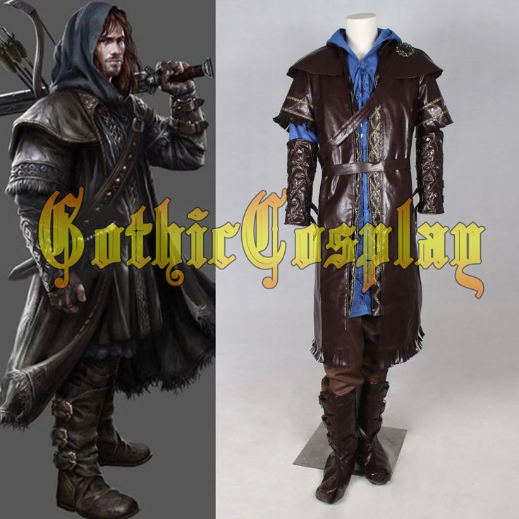 >> Click to Buy << superhero costumes for adult Custom The Hobbit kili cosplay Costume for men #Affiliate