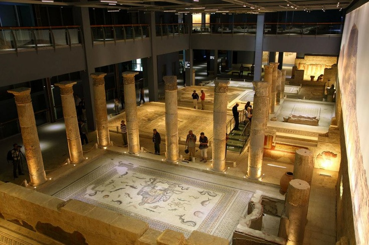 #travel #city #turkey #gaziantep #zeugma #mosaic #museum #poseidon #euphrates