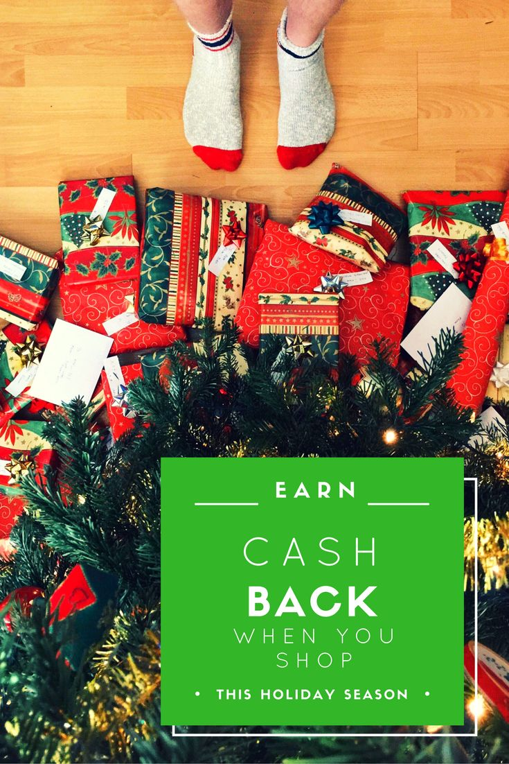 Earn cash back when you shop online this holiday season #affiliate