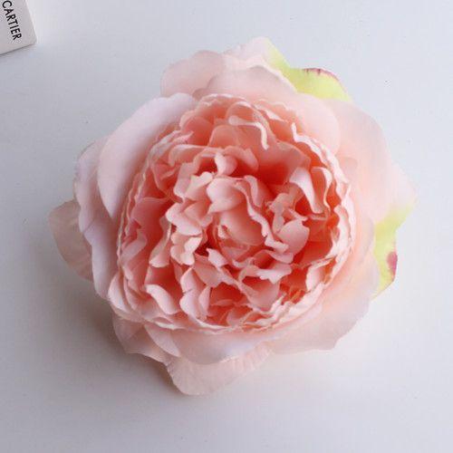Высокая моделирования core пион цветок голову Шелковый цветок DIY свадебный цветок фоне стены украшения Rose/10 см диаметр шелк цветок
