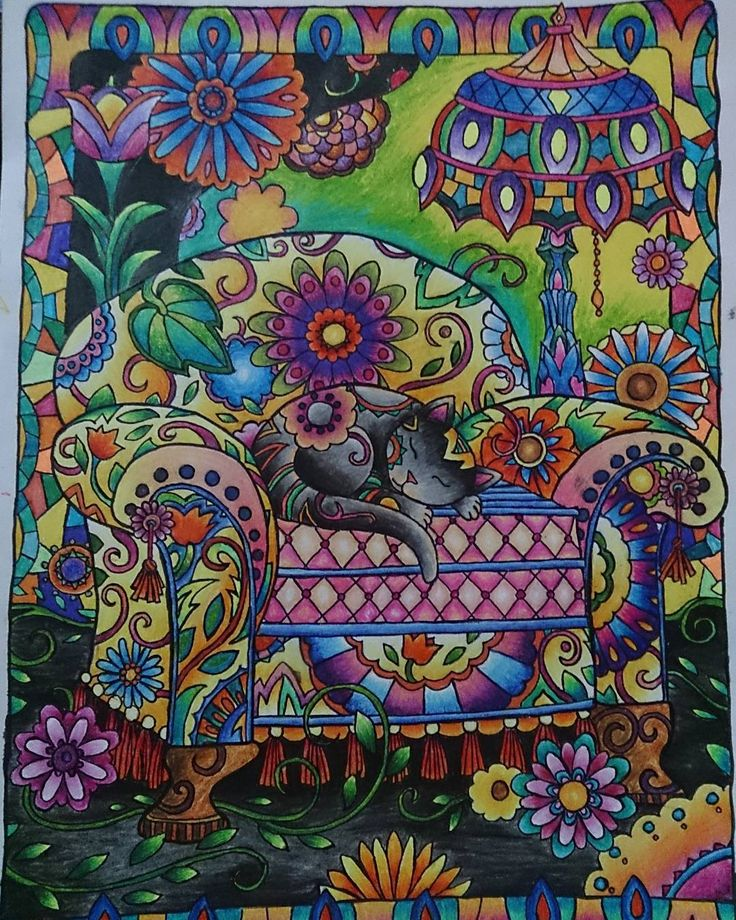 Adult Coloring Books And Crayons - Worksheet & Coloring Pages