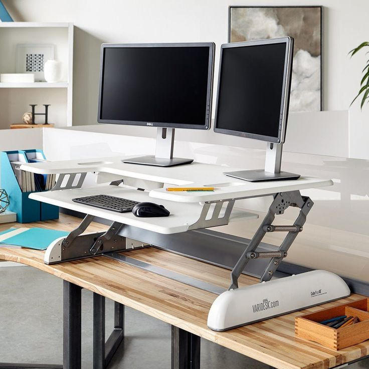 9 best Cubicle Standing Desk Series images on Pinterest Standing