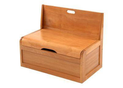 Bankje en opbergkist 'Wave' naturel   Bench York Natural   Tafeltjes en stoelen