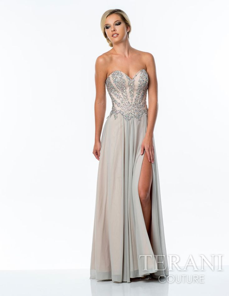 Terani designer prom dresses nyc terani prom gowns long for Wedding dress stores orlando fl