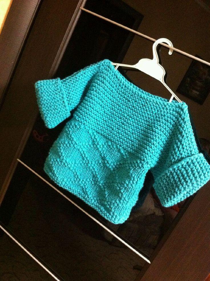 Купить Детская кофта - вязание на заказ, вязание спицами, детская одежда, свитер вязаный
