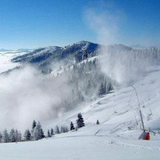 Zwischen 1.100 und 2.055 Metern Seehöhe befindet sich das Skigebiet Bad Kleinkirchheim - St. Oswald, ideale Lage