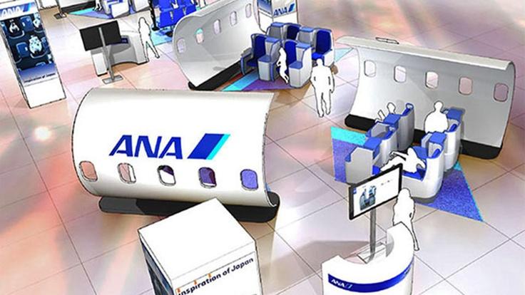 ANA Airlines - Conceptual Design and rendering.    The Displayers help clients exhibit and create branded events and has since 1935.     To better service clients, The Displayers office is directly across from New York's Javits Center.    Repeat clients range from 10x10 exhibits to national museums, please visit our website to see samples of our work - Design - Exhibits - Graphics - Museums.   Client satisfaction is our greatest gratification and we are proud of our (17) LinkedIn referrals…