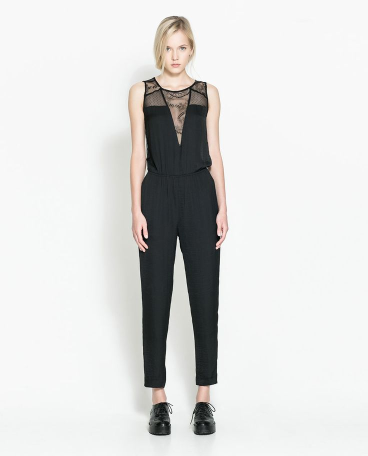 Image 1 of COMBINED JUMPSUIT from Zara