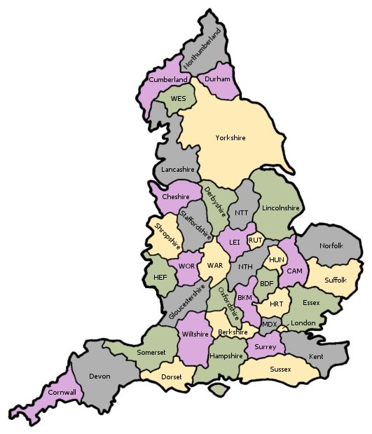 Guide toEngland ancestry, family history and genealogy: parish registers, transcripts, census records, birth records, marriage records, and death records.