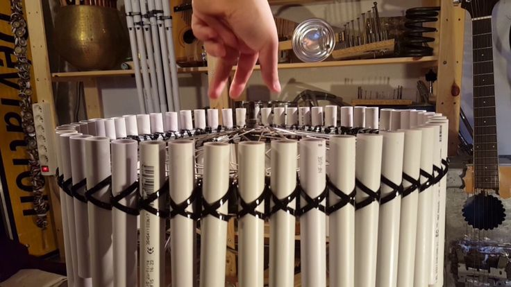 From The Workshop - Bicycle Wheel Pan Flute