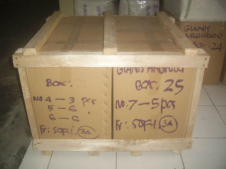 Standard packaging procedure