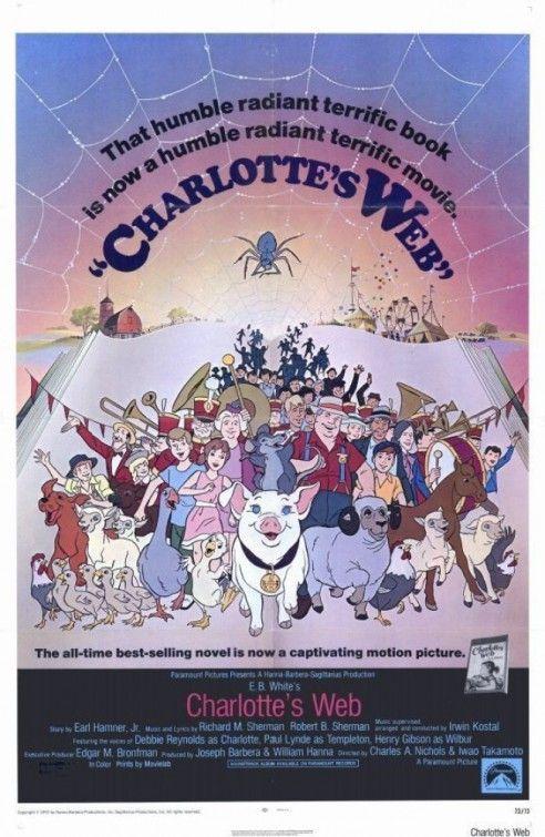 Charlotte's Web Movie Poster 1973