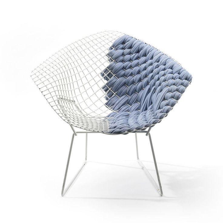 Schön U201cBertoia Loom Chairu201d Is The Reinterpretation Of The Iconic Works Of  Designer Harry Bertoia