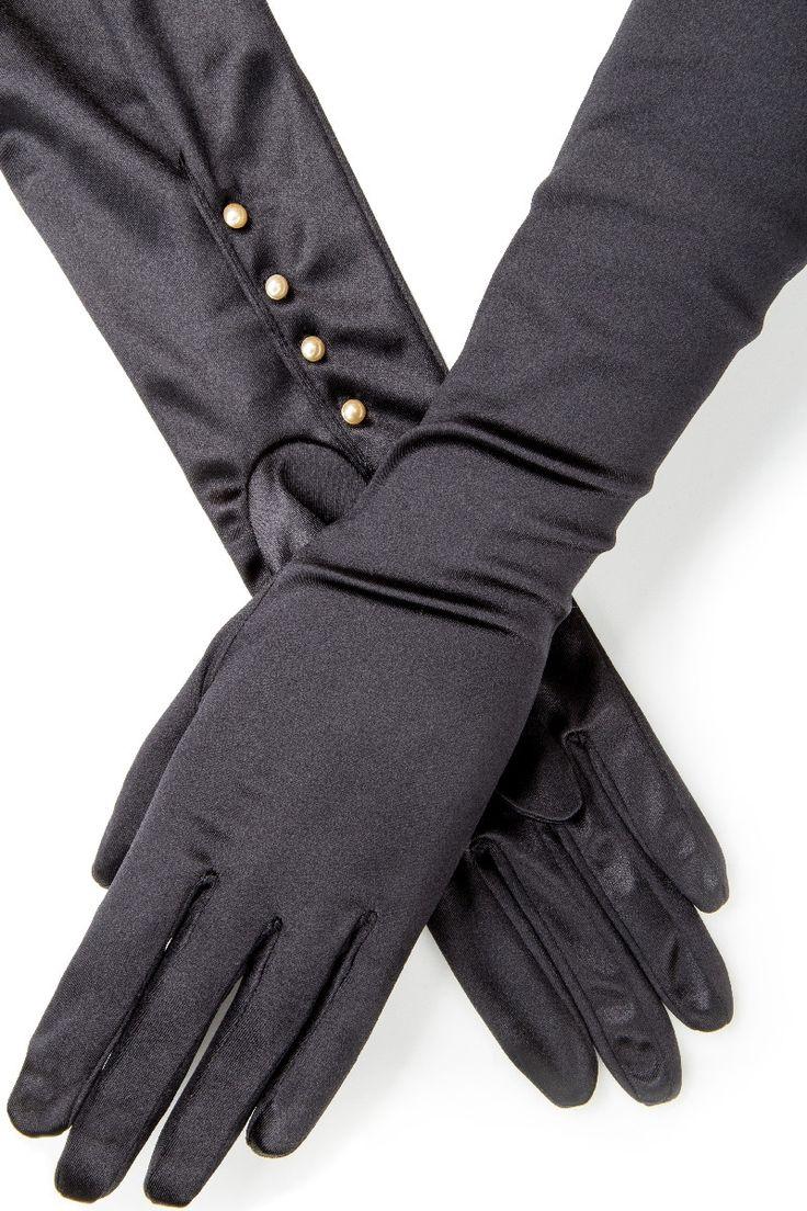 Gaspar leather driving gloves - 1280 Sw10314 Formal Gloves