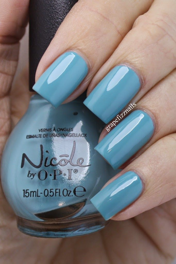 grape fizz nails: Nicole by OPI Fall Into Color 2014