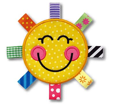 GG Designs Embroidery - Sammy Sunshine Ribbon Applique (Powered by CubeCart)