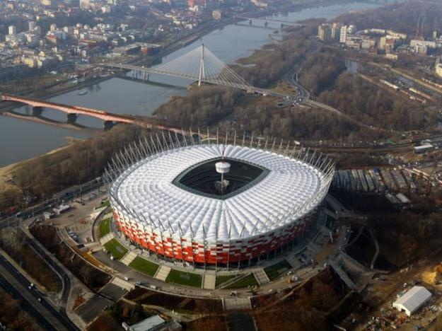 the national stadium in poland