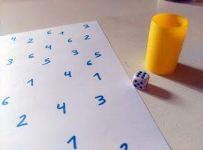 Una princesa guisante: ACTIVIDAD: En busca de los números perdidos