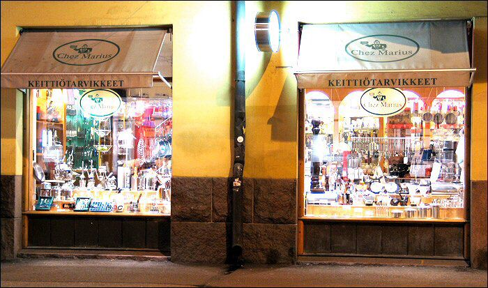 Chez Marius. Kitchenware specialities.
