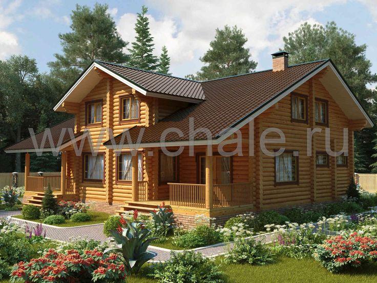 Великий Устюг - Деревянные дома из бруса. Отличный выбор домов по оптимальным ценам